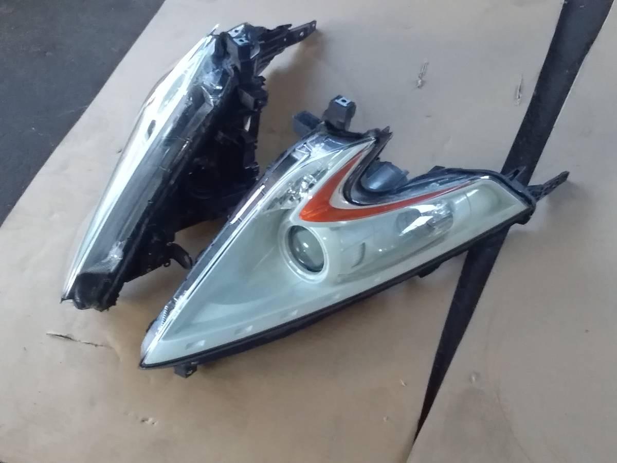 処分 加工品 ジャンク Z34 フェアレディZ 純正ヘッドライト カラワリ塗装