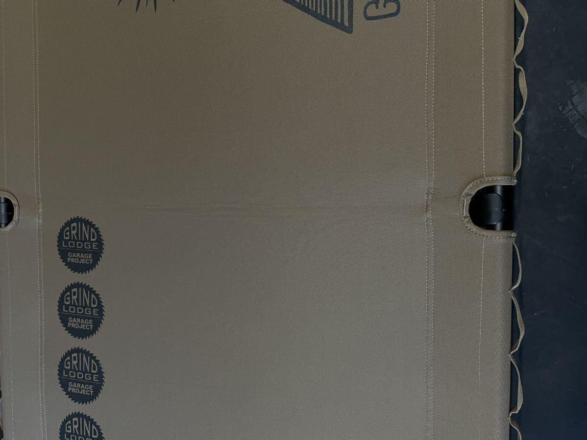 ヘリノックス タクティカルコット コンバーチブル レッグ セット グラインドロッヂ コヨーテ helinox grindlodge 美品 グラインドロッジ