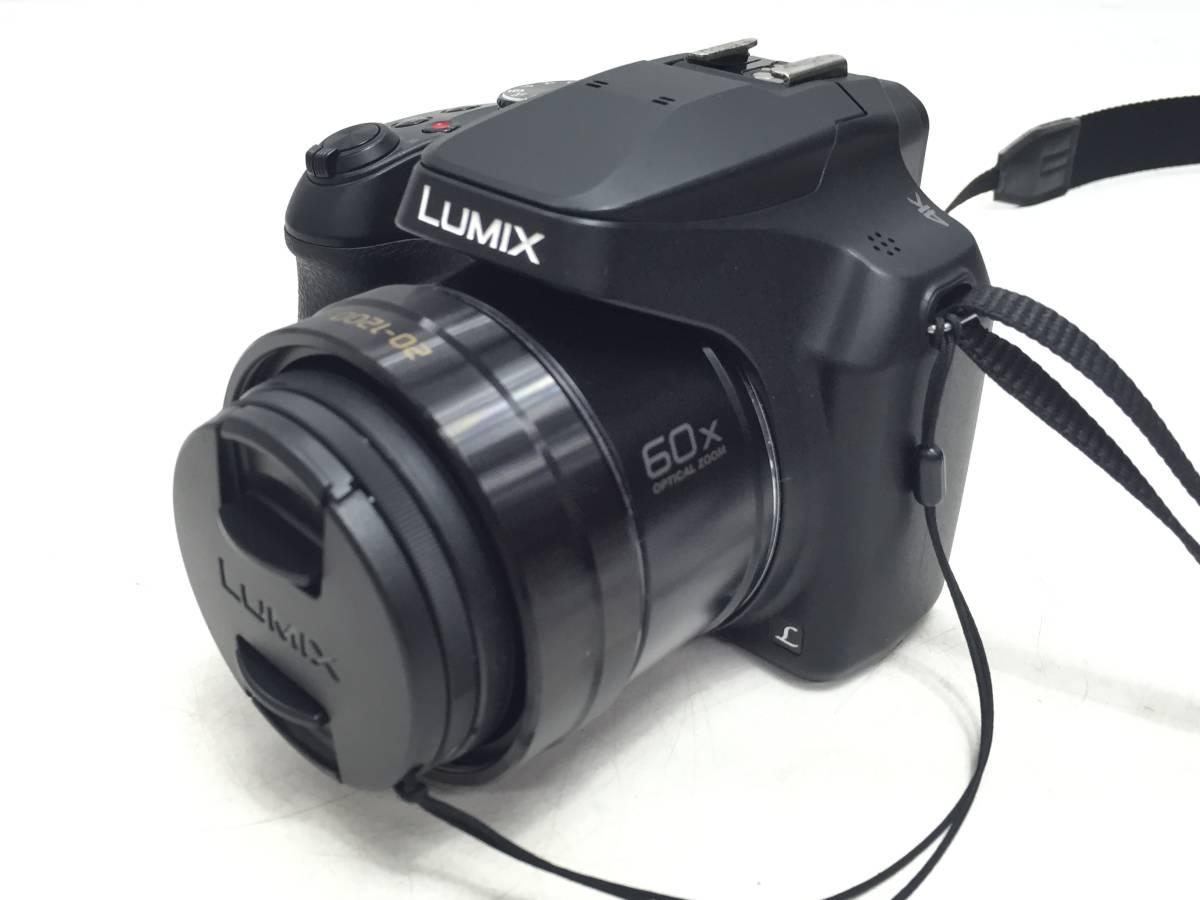 【10358975】★美品♪動作確認済み★Panasonic パナソニック LUMIX DC-FZ85 光学60倍ズーム 4K デジタルカメラ 管)a0301-1-12k