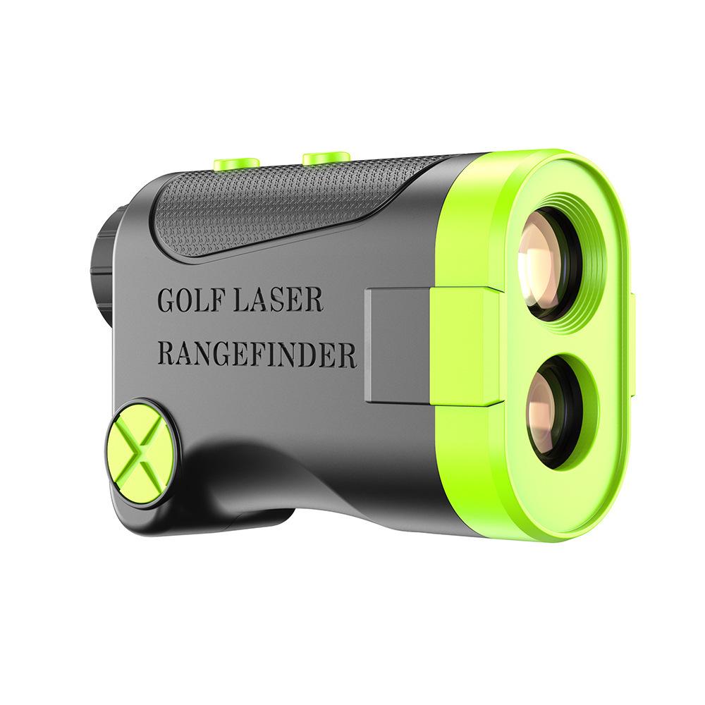 進化版多機能 7測定機能高低差機能黒色熱売り ゴルフ 距離計測器レーザゴルフHR 660yd対応 新品光学6倍望遠 電池付ゴルフ距離計