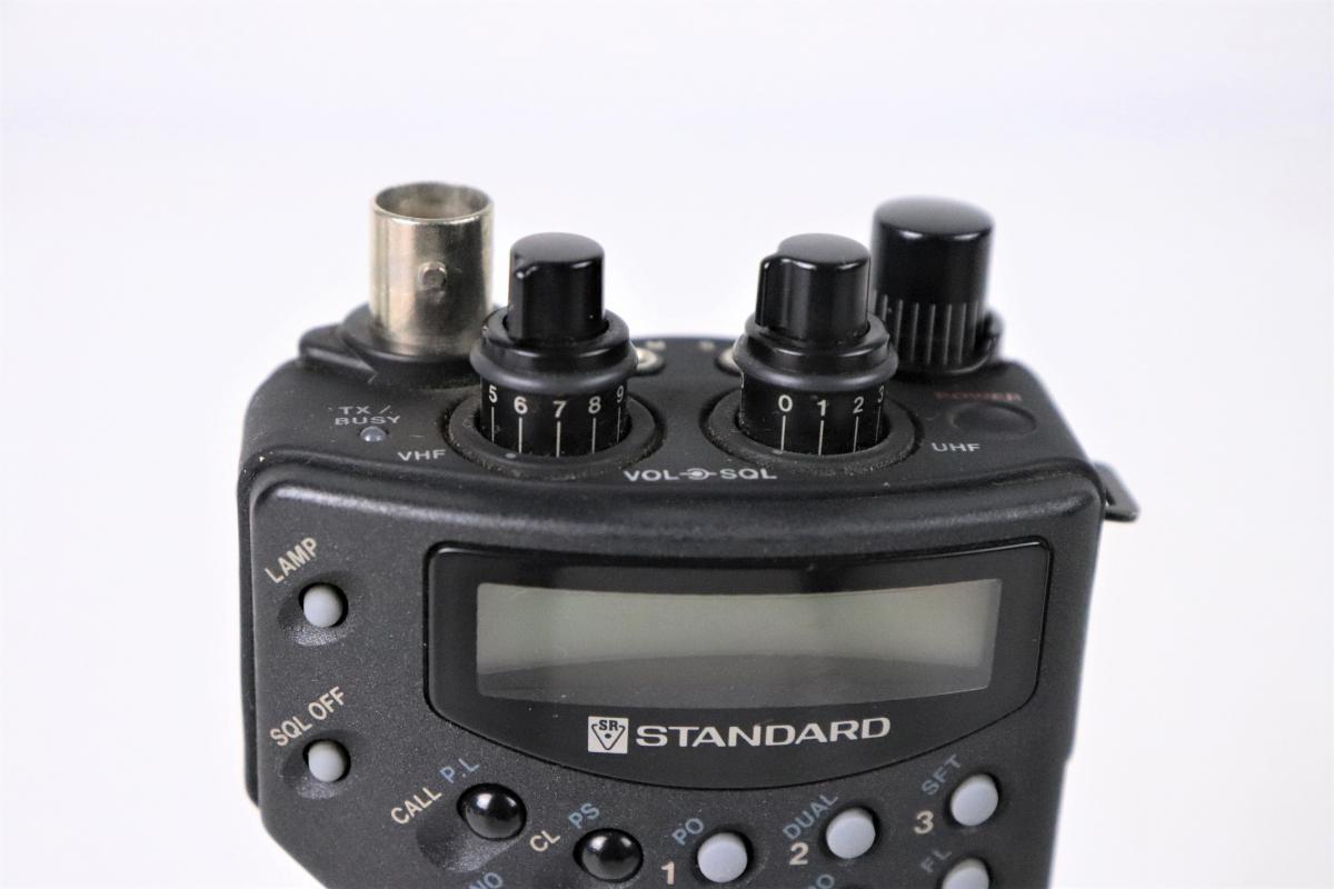 STANDARD スタンダード C550 TWINBANDER 144/430MHZ ツインバンドFM アマチュアトランシーバー 無線機 ハンディ FCEE44