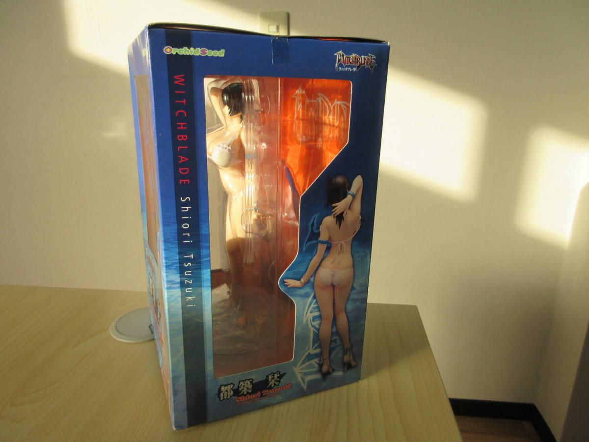 11087 WITCHBLADE 都築 栞 1/7 Scale Painted Figure フィギュア Shiori Tsuzuki ウィッチブレイド OrchidSeed 未開封 未使用